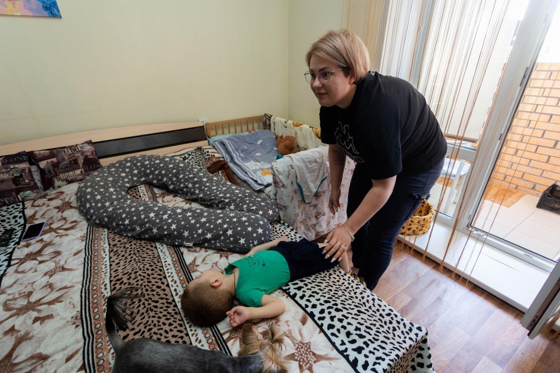 Фото История особенного мальчика Саши – такие дети рождаются один на миллион 11