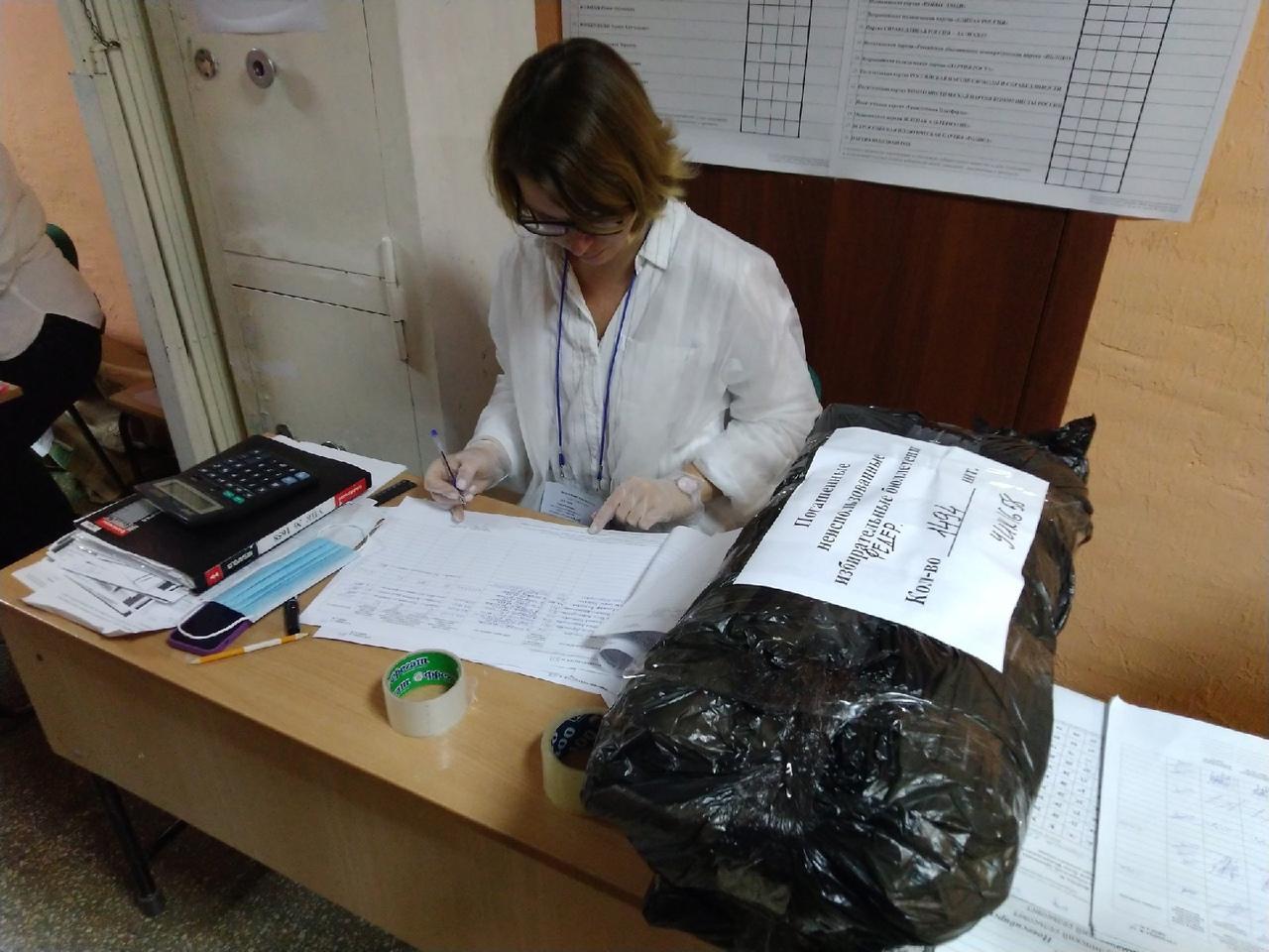 Фото Выборы в Новосибирске: онлайн дня голосования за депутатов Госдумы 19 сентября 2021 года 6