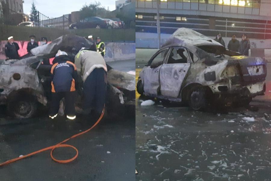 Фото «Делимобиль» назвал причину ДТП с тремя погибшими в центре Новосибирска 2