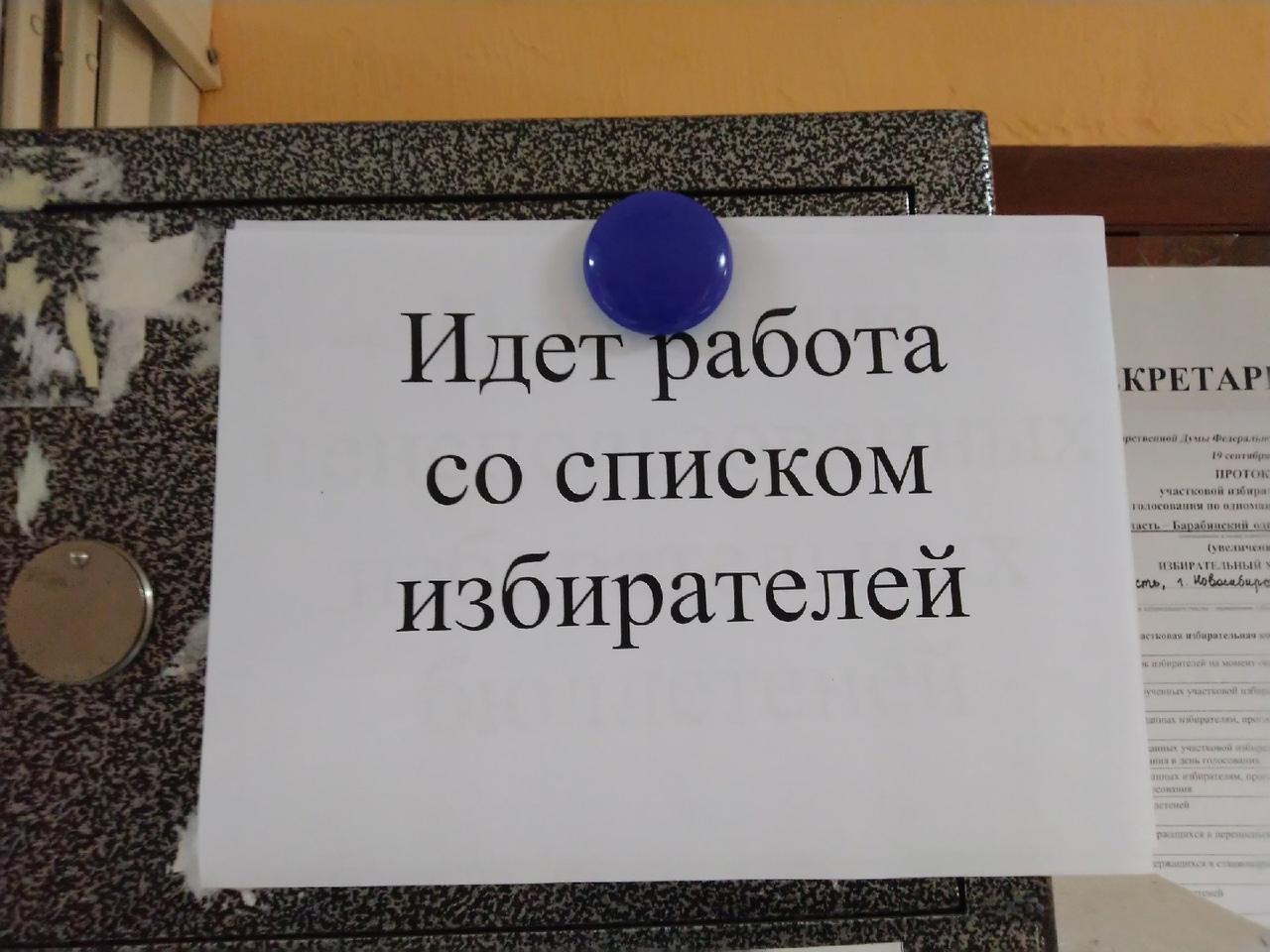 Фото Выборы в Новосибирске: онлайн дня голосования за депутатов Госдумы 19 сентября 2021 года 5