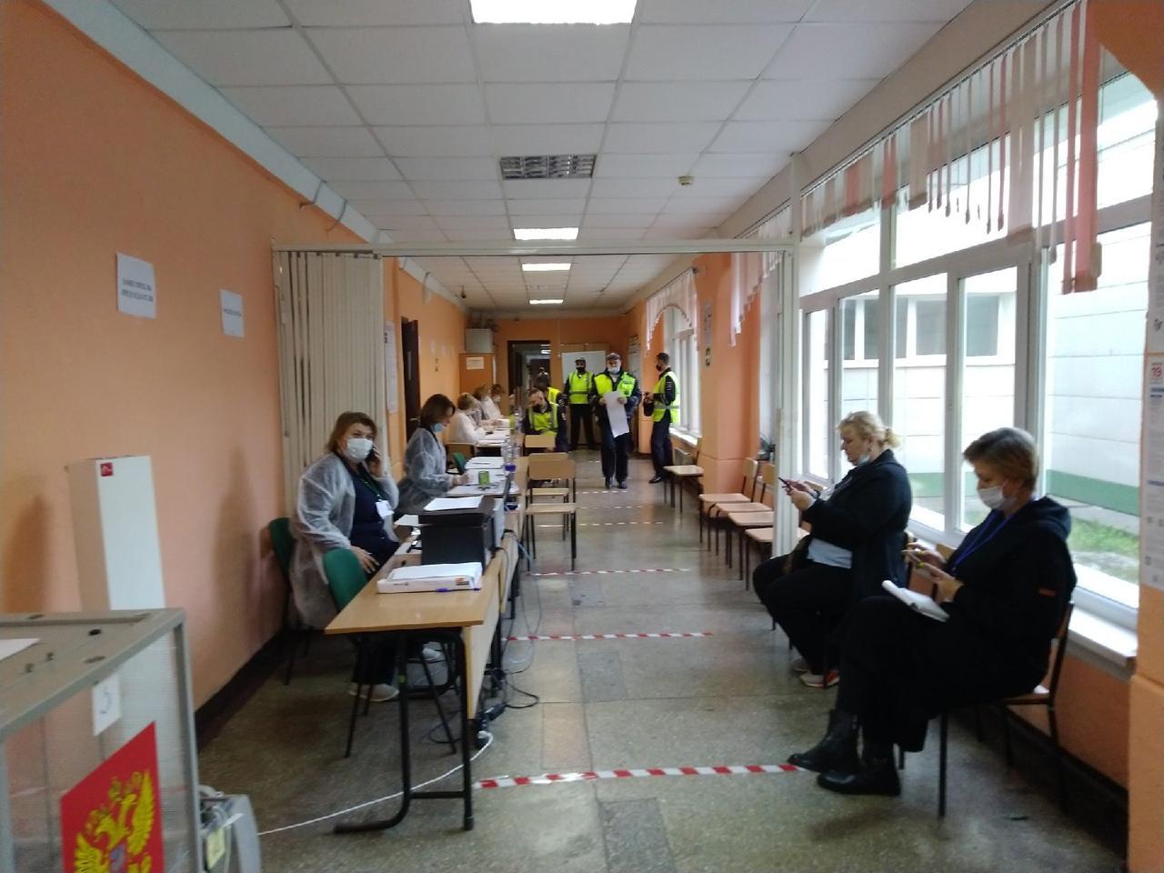 Фото Выборы в Госдуму РФ – 2021 в Новосибирске – лучшие фото 12