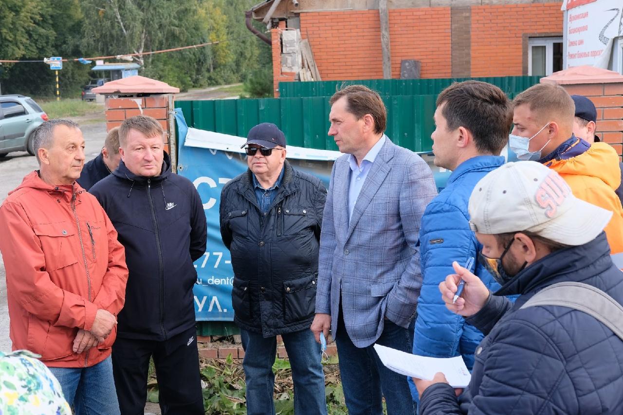 Фото Депутаты проинспектировали ремонт самых проблемных дорог в Кировском районе 2