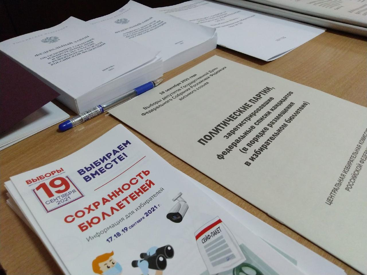Фото Выборы в Госдуму РФ – 2021 в Новосибирске – лучшие фото 7
