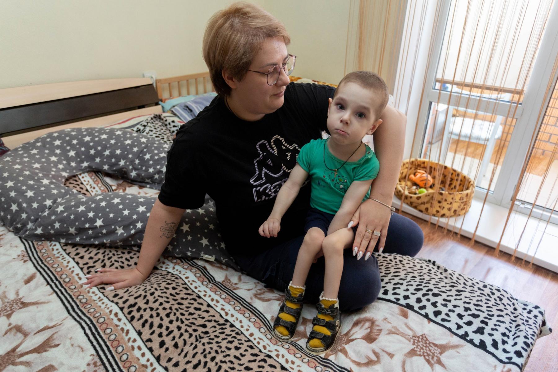 Фото История особенного мальчика Саши – такие дети рождаются один на миллион 6