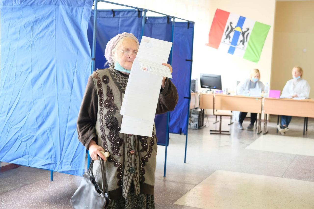 Фото Выборы в Новосибирске: онлайн дня голосования за депутатов Госдумы 19 сентября 2021 года 73