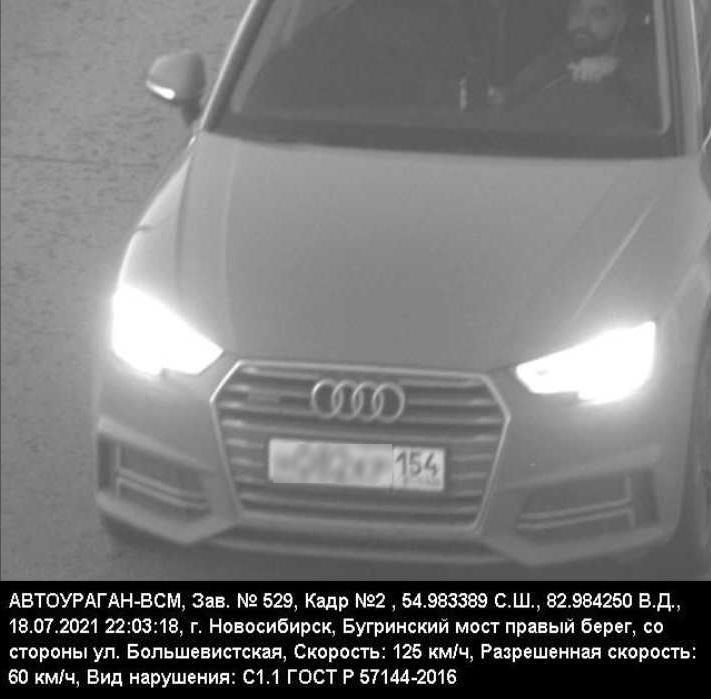 Фото Почти 40 штрафов выписано на авто, за рулем которой был депутат горсовета Новосибирска 2