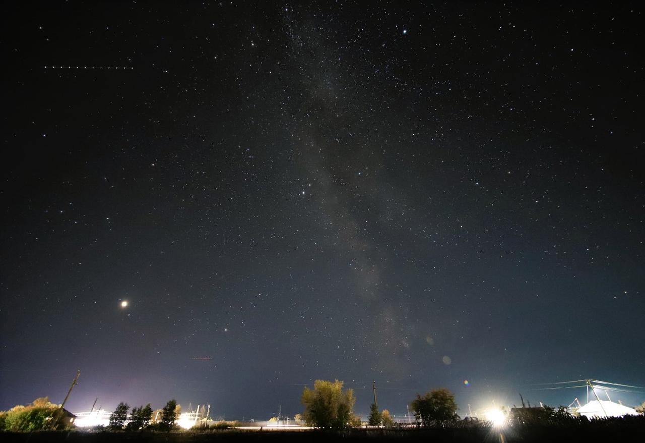 Фото «Нереальное» звёздное небо над Новосибирском запечатлел фотограф Николай Баянов 5