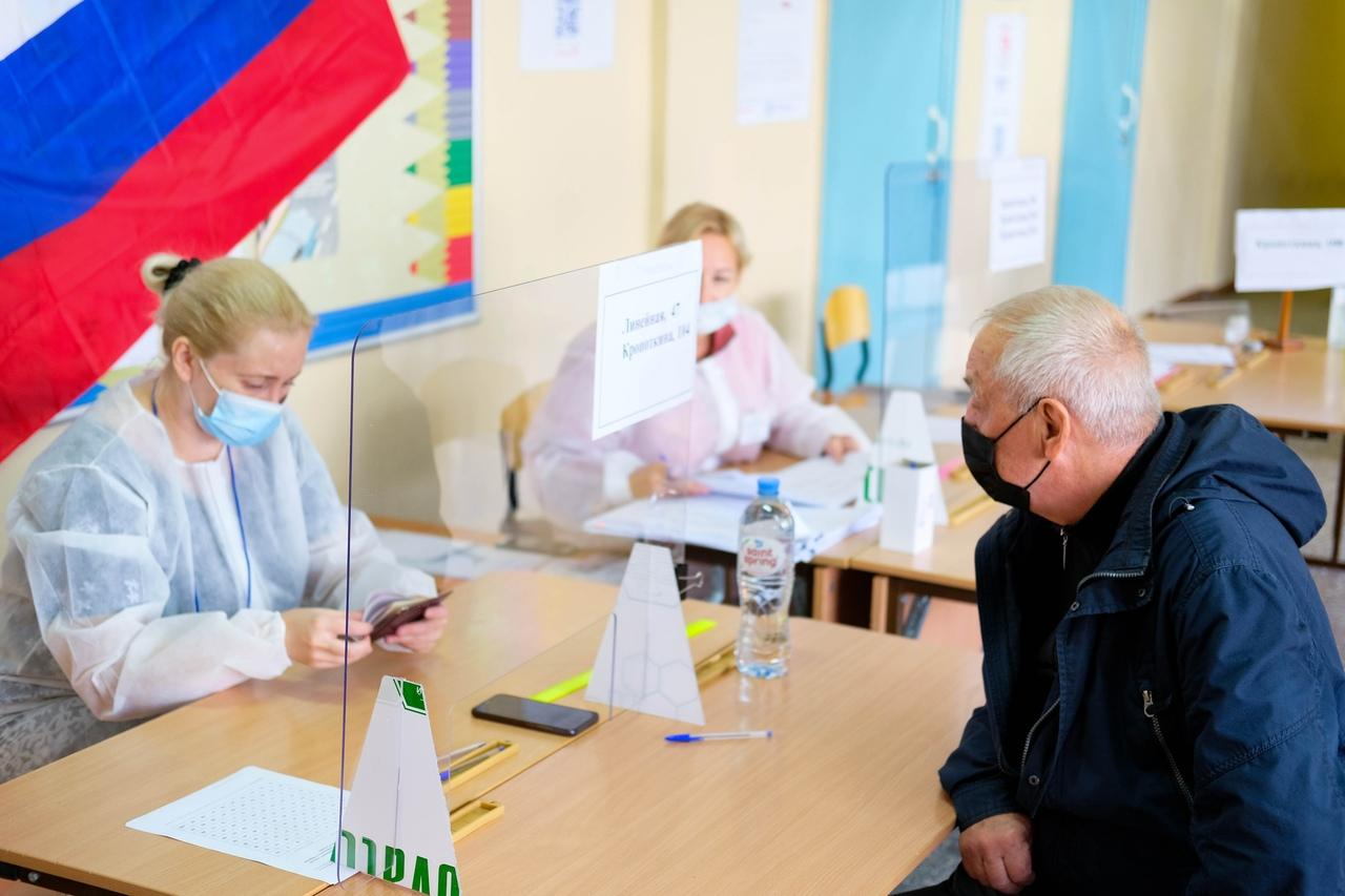 Фото Выборы в Новосибирске: онлайн дня голосования за депутатов Госдумы 19 сентября 2021 года 83