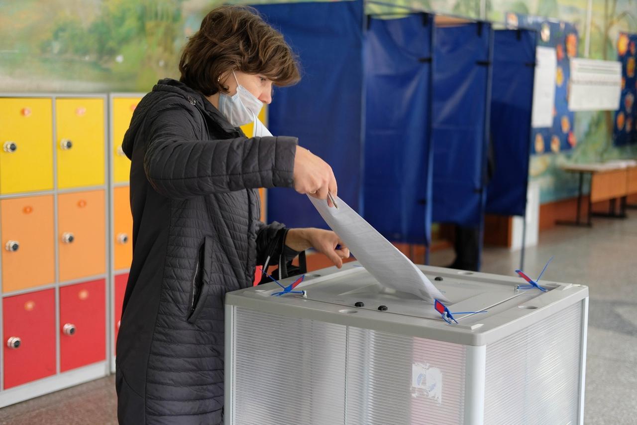 Фото Выборы в Госдуму РФ – 2021 в Новосибирске – лучшие фото 13